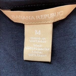 Banana Republic Tops - Blue/gold sequined tank